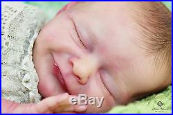 Sweet rebornbaby Doll URIEL by Priscilla Lopes high quality