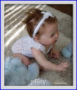 TINKERBELL NURSERY Helen Jalland reborn 10 month baby doll PROTOTYPE