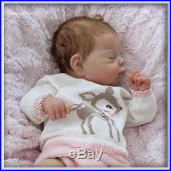 TINKERBELL NURSERY Helen Jalland reborn newborn baby doll Prototype Adrie Stoete