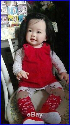 Teegan Reborn Vinyl Toddler Doll Kit by Ping Lau