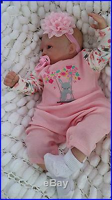 Very Low Stocksunbeambabies, Marissa Mae, Precious Violet Reborn Baby Girl