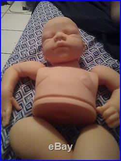 Vinyl reborn baby doll kit