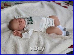 WILLIAMS NURSERY REBORN BABY BOY DOLL Joshua by Reva Schick REALISTIC NEWBORN