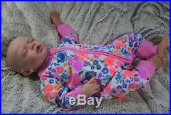 Yannie Gudrun Legler, reborn baby art doll, COA