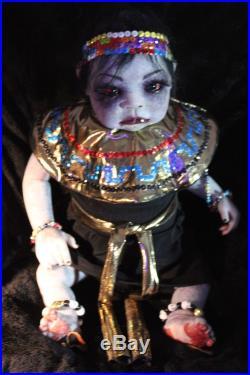 Zombie Walking Dead Reborn Baby Doll Horror Elises Wicked