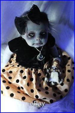 Zombie Walking Dead Z Nation Reborn Baby Doll Horror 21 OOAK ART Carol